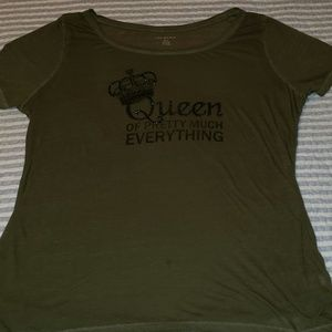Lane Bryant Graphic Tee - Size 14/16